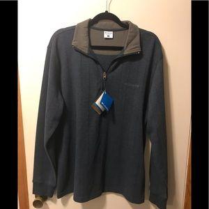 Colombia northern rim half zip shirt